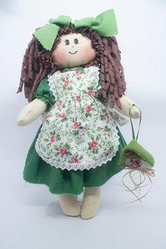 Alice - Boneca de Pano