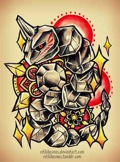 Pokemon by RetkiKosmos on DeviantArt Fantasy Drawings, Cool Drawings, Pokemon Sleeves, Cool Pokemon Wallpapers, Deadpool Pikachu, Pokemon Sketch, Pokemon Craft, Pokemon Tattoo, Anime Tattoos