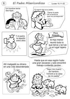 La Catequesis (El blog de Sandra): Recursos Catequesis 24º Domingo Tiempo Ordinario Ciclo C Parábola Hijo Pródigo