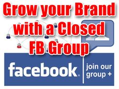 Looking to grow your brand? See how to use a closed Facebook group to increase engagment! Social Media Marketing Seo Articles, Search Engine Optimization, Social Media Marketing, Facebook, Group, Learning, Blog, Social Media, Studying