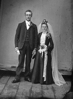 Black Wedding Gowns, Black Bride, Brides, Weddings, Black Wedding Dresses, Wedding, Wedding Bride, Bridal, Bride