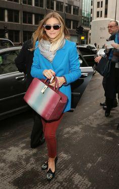 London Fashion Week 2014 : Olivia Palermo At Anya Hindmarch