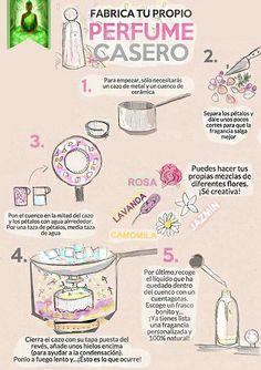 Como hacer perfume casero                                                       …