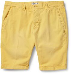 Gant Rugger Straight-Leg Cotton and Linen-Blend Chino Shorts | MR PORTER