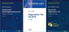 3 Bücher für das Jura-Studium | Rechtswissenschaft Blog