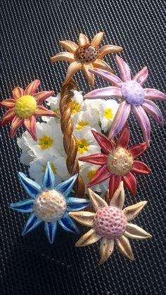 Keramik- Blumen
