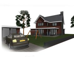 Een nieuw ontwerp voor een leuke en speelse woning in Amersfoort