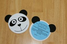panda themed birthday party