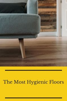 Check out the most hygienic floors you can install in your home. Flooring 101, Floors, Ottoman, Chair, Safety, Furniture, Home Decor, Home Tiles, Security Guard