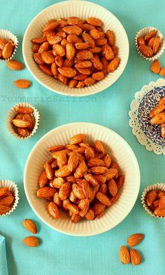 Turmeric and Saffron: Badam Sookhteh - Persian Candied Almonds