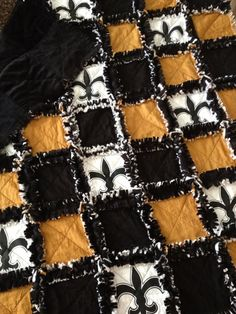 New Orleans Saints Quilt