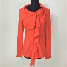 Fashion Jacket Orange fashion jacket, cute and warm! All prices negotiable, make me an offer! :) Jackets & Coats