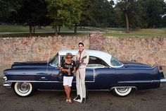Image: Jeannette McPherson from Houston, Texas stands with a cardboard cut-out of Elvis in front of his former home, Graceland Mansion in Memphis, Tennessee, Aug. 16, 2007—the 30th anniversary of Presley's death. (© Joe Raedle/AFP/Getty Images)