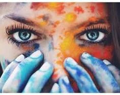 Resultado de imagen de fotos tumblr con pintura
