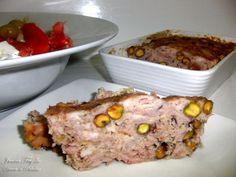 Receta de terrina de conejo al Oporto Quiches, Tapas, Meatloaf, Beef, Cooking, Diabetes, Food, Dressings, Food Drink