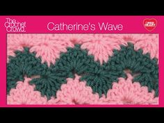 Learn how to crochet the Catherine's Wave Stitch. This is a variation of the Catherine wheel stitch. Follow along and make your own.