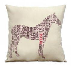@Trisha Boggs horse throw pillow love this!