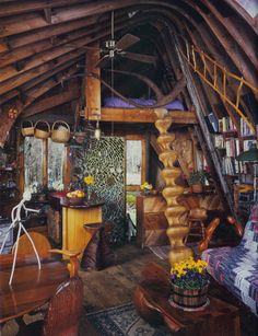 I Love the ladder - To connect with us, and our community of people from Australia and around the world, learning how to live large in small places, visit us at www.Facebook.com/TinyHousesAustralia