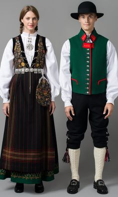 Bunad – beautiful national outfit of Norway Norway Clothes, Norway Culture, Norwegian Clothing, Troll Costume, European Dress, Frozen Costume, Scandinavian Fashion, Fashion Images, Traditional Dresses