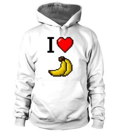 "# I love BANANA - Limited Edition .  Say it in pixels. We love RETRO, we love 8-BIT, we love BANANAS. The insider for insiders.Special Offer, not available anywhere else!      Available in a variety of styles and colors      Buy yours now before it is too late!      Secured payment via Visa / Mastercard / Amex / PayPal / iDeal      How to place an order            Choose the model from the drop-down menu      Click on ""Buy it now""      Choose the size and the quantity      Add your delivery…"