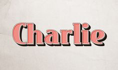 GMF: How to create Charlie Text Effect