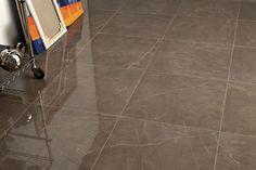 Taupe Porcelain - Stone Superstone offers a large range of Porcelain Tiles. Order a Free Sample Online Now! Study Room Decor, Polished Porcelain Tiles, Marble Effect, Floor Design, Tile Floor, Flooring, Stone, Architecture, Marble Bathrooms