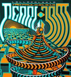 d3b5a0fda2 pearl jam poster sao paulo 2013 - Pesquisa Google