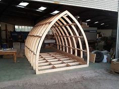 Glamping Pods, Garden Rooms, Office Framework