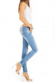 Skinnyjeans in Hellblau von bestyledberlin Onlineshop für Jeans