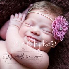 Lace Rosette Clip or Band in 21 Colors by Chic by chicbabyrose, $9.95