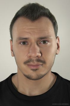 Realistic portrait, Riccardo  Minervino on ArtStation at http://www.artstation.com/artwork/realistic-portrait