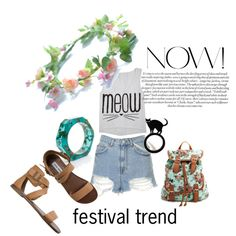 #festival #trend by ella-gajewska on Polyvore