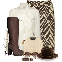 """""""Nina ~ Must have Fall prints contest"""" by msmeena on Polyvore... minus the boots"""