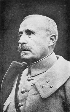 France. General Robert Nivelle, French Army Commander-in-Chef in 1916, then replaced by General Petain, WWI