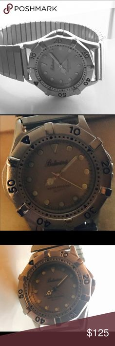 Vintage Ballantines Quartz watch men's Vintage Ballantines  Quartz men's watch excellent condition at least 30yrs old Ballantines vintage Accessories Watches