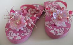 little lady pink sandal
