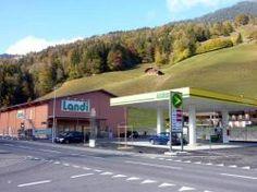 Landi Simmental Saanenland, Gstaad, Lebensmittelladen, Gasdepot, Haushaltsprodukte