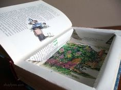 DIY secret hollow book box