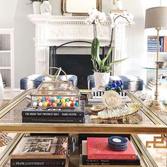 Sharing my three coffee table styling tips to help personalize it and take it to the next level by making it a converational piece. Coffee Table Candy Dish, Candy Table, Coffee Table Styling, Rustic Coffee Tables, Laundry Room Design, Laundry Rooms, Transitional Living Rooms, Organization Hacks, Organizing Tips