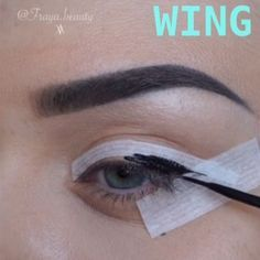 ~  Been playing around with tape today and decided to share this fast and easy winged eyeliner technique for makeup beginners ... I wouldn't call the result perfect, but it's definitely good enough for a quick everyday Go To look. P.S. I'm using medical paper-based tape, sold in every pharmacy ~.                                           ~ If you want to spoil yourself with some Sigma brushes, I have a clickable link in my bio, that will lead you to their website!  Sigma brushes a...