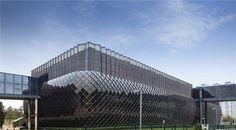 Thin-film curtain wall solar - Google Search