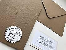 Papiernictvo - Svadobné oznámenie  - 7322386_