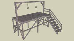 Gallows - 3D Warehouse