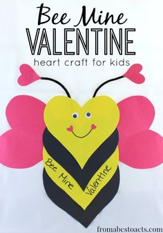 Valentines Day Crafts are easy to made with some tips and suggestions. Valentine day crafts for kids are fun, good and inspiring at the same time. Valentine's Day Crafts For Kids, Valentine Crafts For Kids, Daycare Crafts, Valentines Day Activities, Classroom Crafts, Valentines Day Party, Funny Valentine, Preschool Crafts, Holiday Crafts