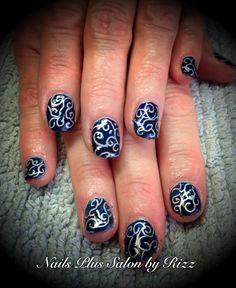 Shellac carving nails