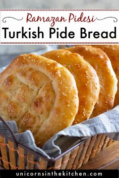 Easy Turkish pide bread recipe! This is traditional no knead Turkish flatbread that's so easy to make. You can have this bread for breakfast with cheese, butter, jam and nuts or with egg dishes such as omelets. This bread is so fluffy and soft! Fresh out of the oven, it's so hard to resist!