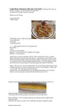 Low Carb Cinnamon Rolls (pinwheels) - Pie crust style - Gloria Koch
