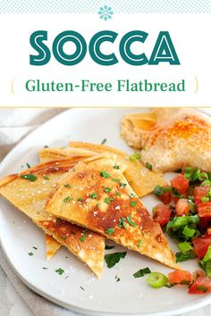 Easy Delicious Recipes, Easy Appetizer Recipes, Supper Recipes, Healthy Eating Recipes, Great Recipes, Whole Food Recipes, Cooking Recipes, Socca Recipe, Gluten Free Flatbread
