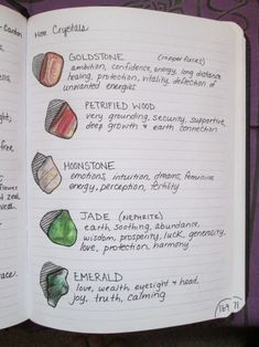 Stella Witchcraft — I got some new crystals! :D Illustration time Stella Witchcraft — I got some new crystals! :D Illustration time Bullet Journal Ideas Pages, Bullet Journal Inspiration, Journal Pages, Wicca Witchcraft, Magick, Grimoire Book, Spiritus, Modern Witch, Witch Aesthetic