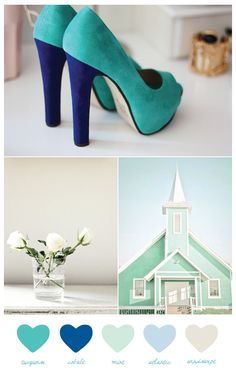 mint + turquoise  (from The Sweetest Occasion)